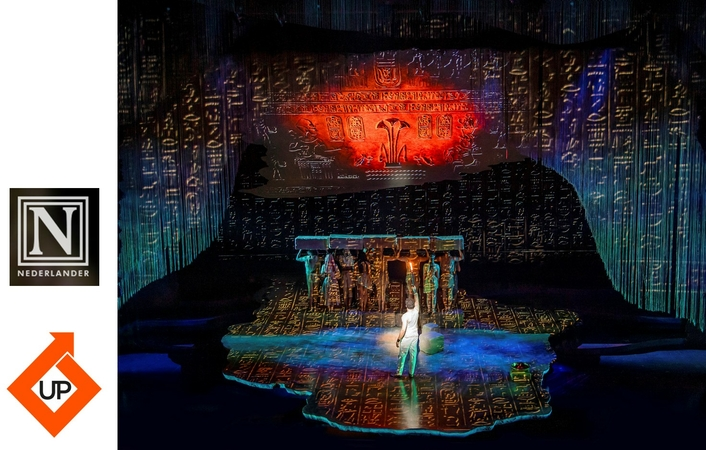 Universal Pixels supplies Leyard screen for The Prince of Egypt