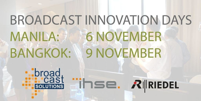 Broadcast Solutions continues Broadcast Innovation Day Series in Asia