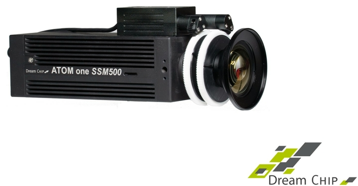 Dream Chip Speeds Ahead with its Super Slow Motion ATOM one SSM500 Camera