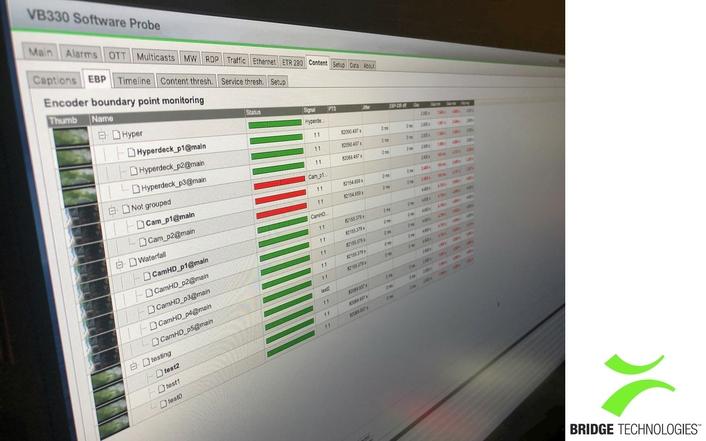 Bridge Technologies Announces VB330 v6 with Dramatic Increase of Monitoring Capacity