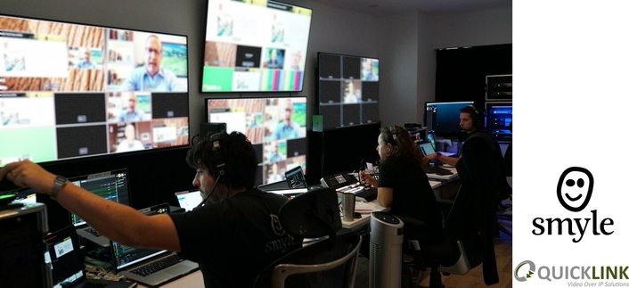 Smyle take live events online amid COVID-19 with the help of Quicklink Studio for remote contributions