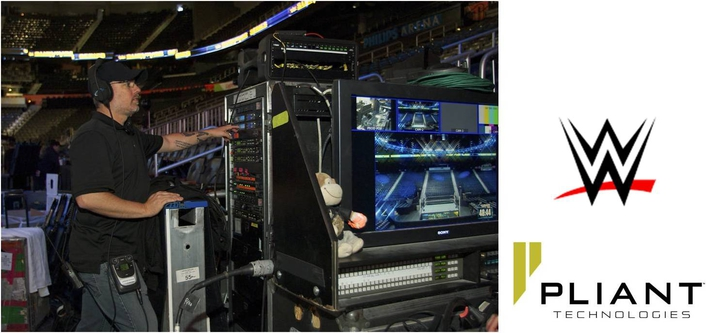 WWE CALLS ON PLIANT™ TECHNOLOGIES FOR EVENT PRODUCTION