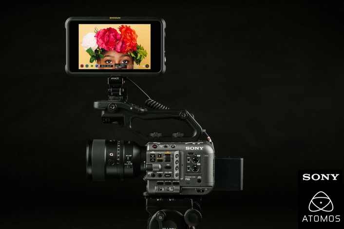 Atomos announce up to DCI 4Kp60 full-frame ProRes RAW recording from Sony's FX6 camera and Shogun 7