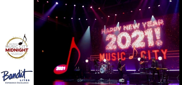 Nashville New Year's Eve Pivots with Bandit Lites