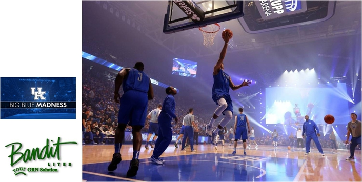 BIG BLUE MADNESS SHINES WITH BANDIT LITES