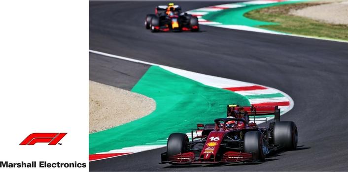 Marshall Captures all the Heart Stopping, Adrenaline Pumping Formula 1 Racing Action at Ferrari's Italian Mugello Circuit