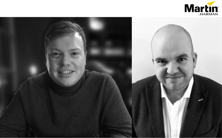 Martin Professional Welcomes Michael Straun and Nick Hansen as New EMEA Lighting Designer Relationship Managers