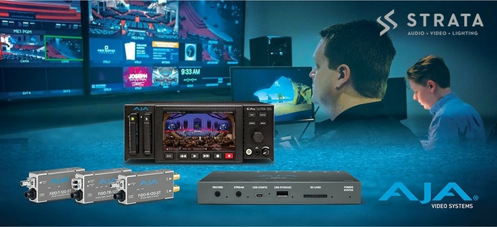 STRATA Drives HOW AV Workflows into the Future with AJA Technology