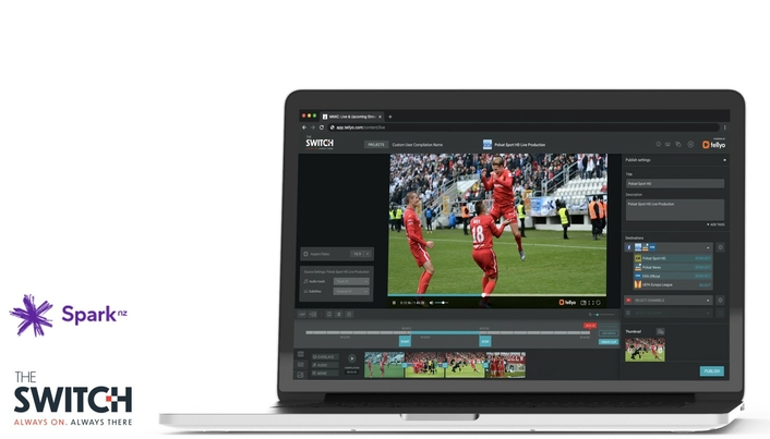 Igniting NZ Sports: The Switch teams with Spark Sport for cloud production and delivery of F1, Premier League and New Zealand Cricket