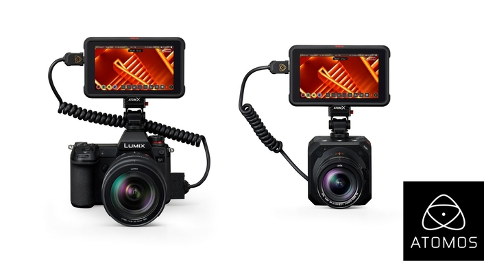 Atomos announces Apple ProRes RAW support for the Panasonic LUMIX BGH1 Box camera and the LUMIX S1