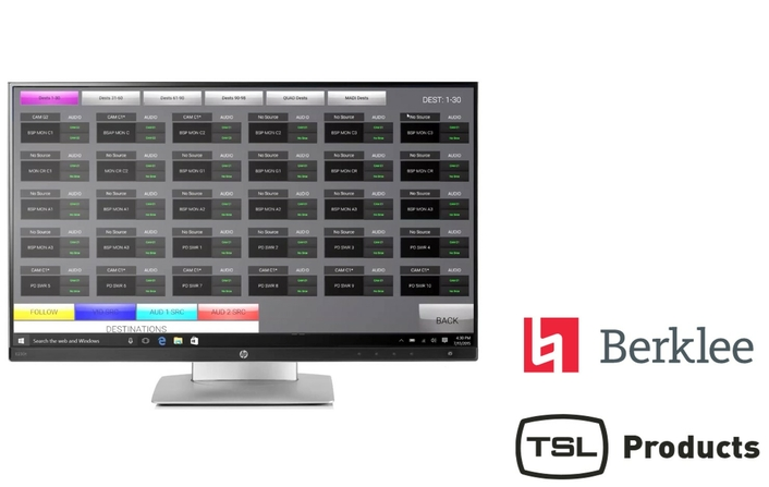 TSL Products Provides Cost-Effective IP Routing Control Layer for Power Station at BerkleeNYC