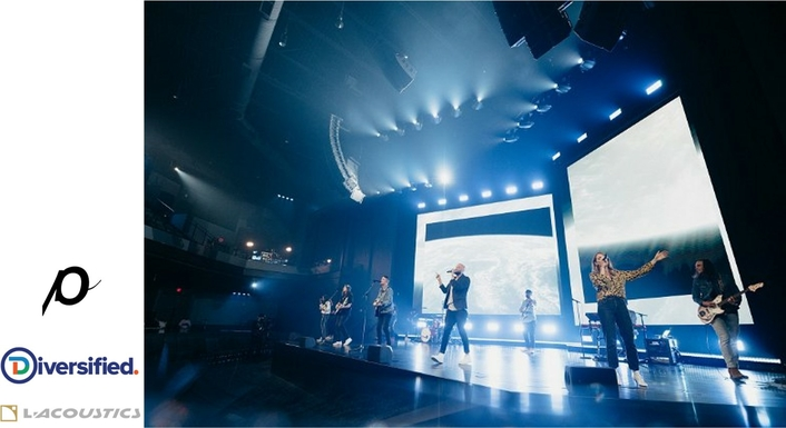 """L-Acoustics Conquers the """"Perfect Storm for a PA System"""" at Passion City Church's New Cumberland, Georgia Location"""