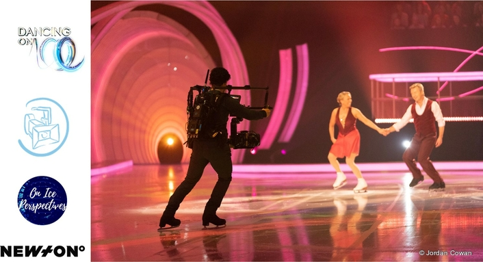 First Skating Cameraman In Live TV Broadcast
