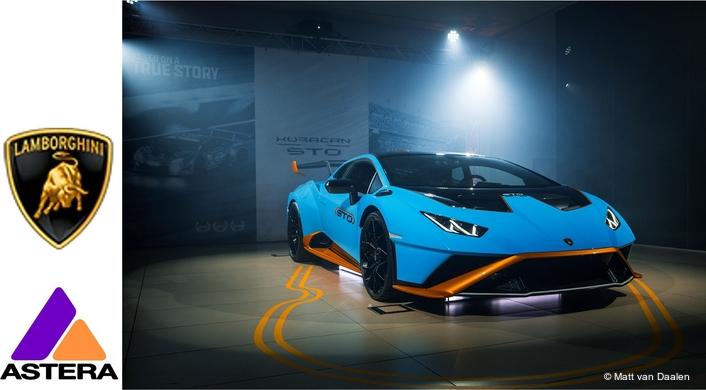 Astera for Lamborghini Huracán STO Launch in Australia
