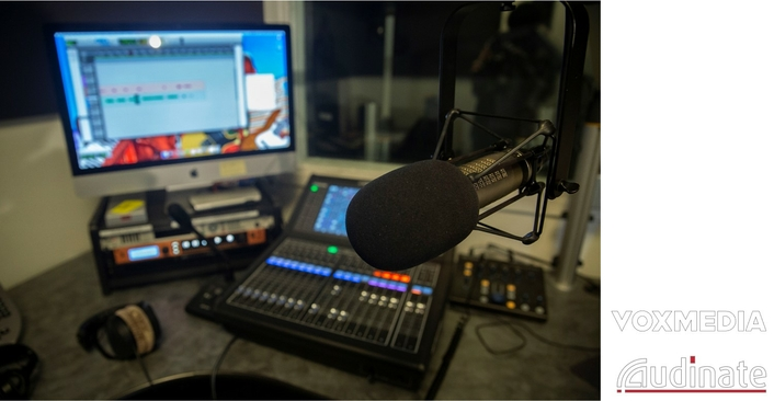 Vox Media relies on Dante audio network for flexible connectivity, remote operations, and studio growth