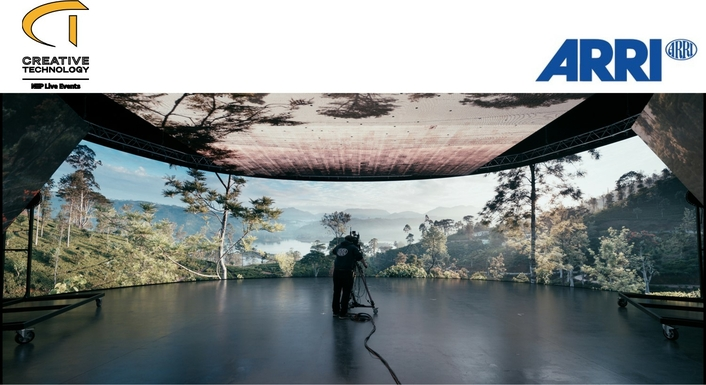 ARRI opens a mixed reality studio available for hire to productions in the UK