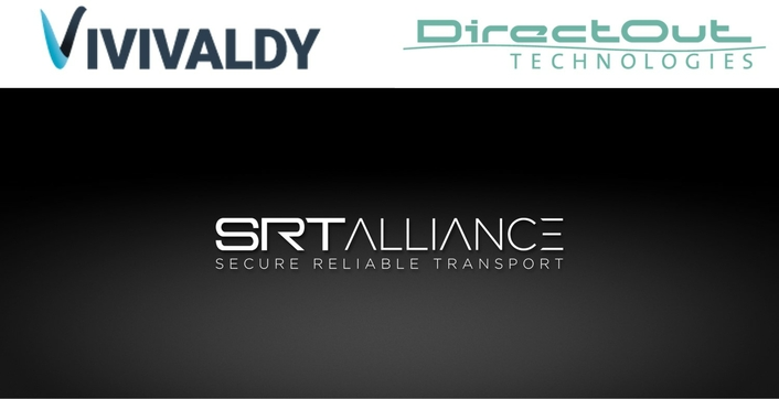 DirectOut and Vivivaldy joining the SRT Alliance