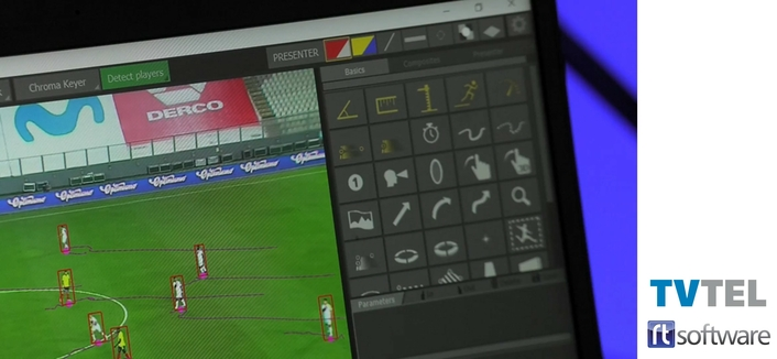 TVTEL choses RT Software's AI assisted Tactic Pro Sports Analysis solution for Remote Production