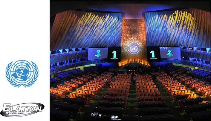 Elation Lights World Humanitarian Day Concert at United Nations