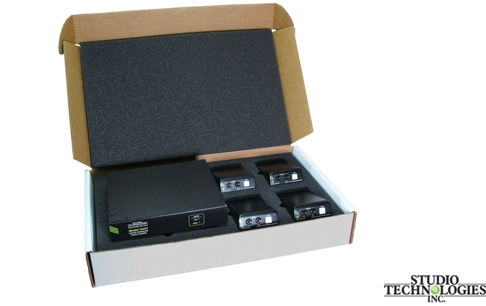 Studio Technologies Realeases Two New Dante Intercom Kits