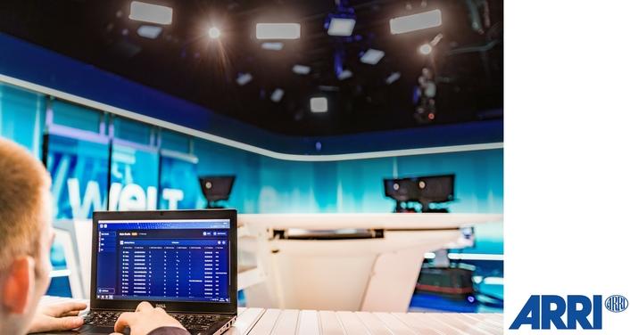 ARRI releases ARRI LightNet—a unique new software platform for centralized monitoring, fault-finding, and management of broadcast studio lighting networks