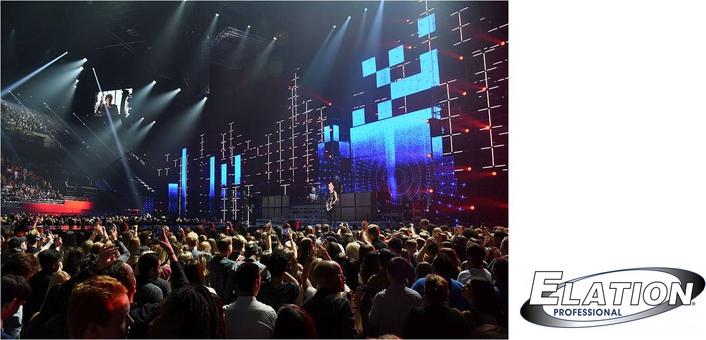 Tom Kenny Uses Elation ACL 360 Matrix™ in Massive MTV EMA Set
