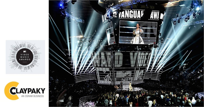 Clay Paky Mythos and Sharpys Shine at 2016 MTV  Video Music Awards at Madison Square Garden