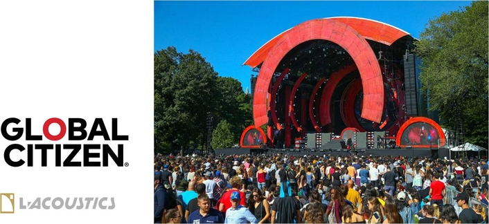 Global Citizen Festival Rallies Humanity With L-Acoustics