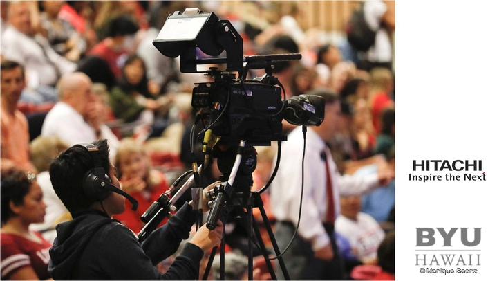 BYU-Hawaii Starts Path to Ultra HD Production with HITACHI SK‑UHD4000 4K Cameras