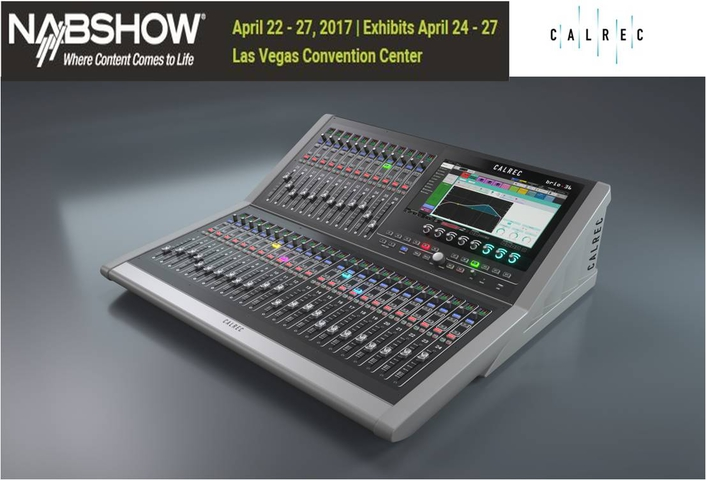 Calrec Audio Products at the NAB2017 Show