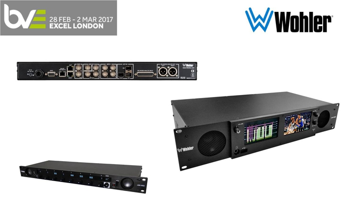 WOHLER DISPLAYS LINE OF AoIP AND VoIP MONITORING SOLUTIONS AT BVE 2017