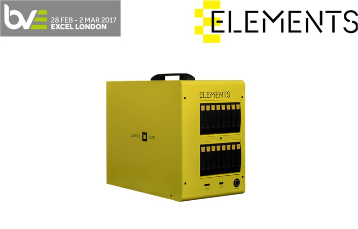 ELEMENTS Showcases award-winning ELEMENTS CUBE at BVE