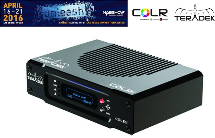 Teradek Announces 4K Color Grading and New COLR Models
