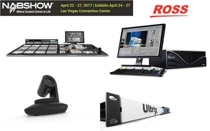Ross Video News Release - More Smart Production from Ross at NAB 2017