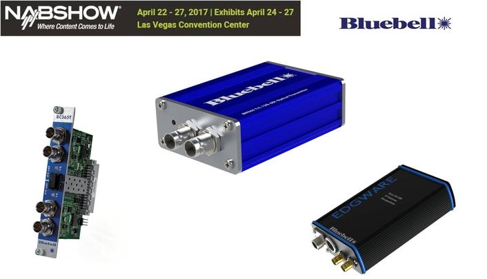 Bluebell Opticom at the 2017 NAB Show