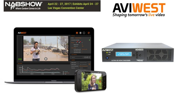 AVIWEST 2017 NAB Show Exhibitor Preview