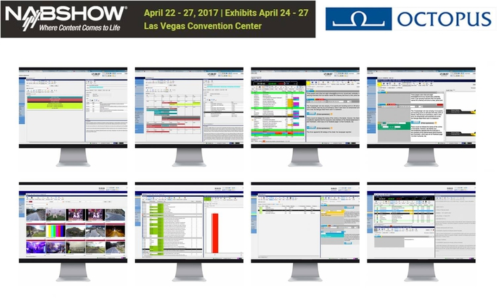 NAB2017 Preview: OCTOPUS Newsroom
