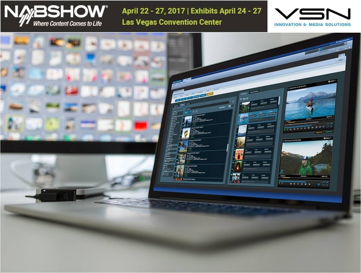 VSN to Launch Web-Integrated Editing Tool at NAB2017