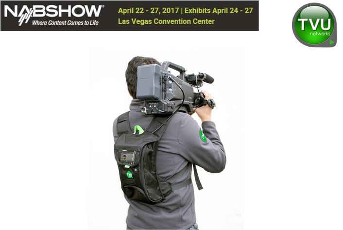NAB2017: TVU Networks and AP to Demonstrate Advanced Newsroom Workflow