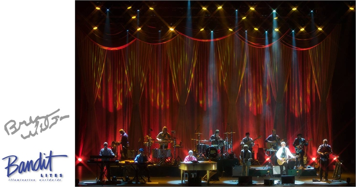 BANDIT BRINGS LIGHTS TO BRIAN WILSON'S TOUR