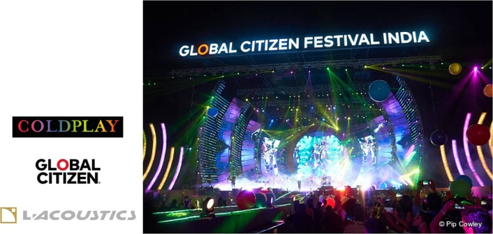 Coldplay and L-Acoustics headline at Global Citizen India