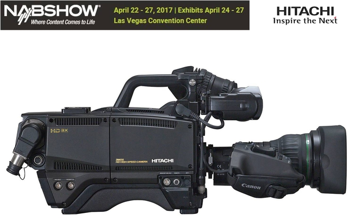 Hitachi Kokusai to Highlight High-Quality Acquisition for Sports and Mobile Production at 2017 NAB Show