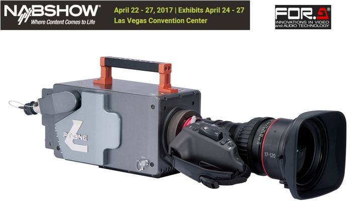 FOR-A to Debut FT-ONE-LS-12G Full 4K Super  Slow-motion Camera at 2017 NAB Show