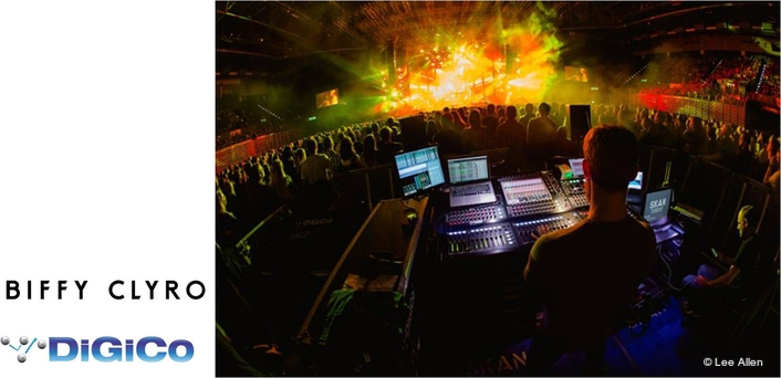 DiGiCo SD10s tour the world with Biffy Clyro
