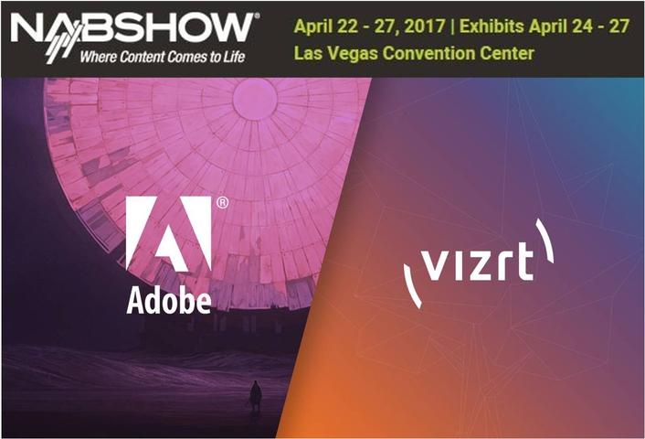 Vizrt simplifies production workflows with centralized Adobe Premiere Pro CC project management at NAB2017