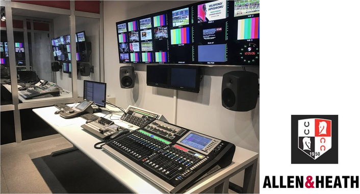 Turkeys National TV Racing Channel Selects Allen & Heath Solution