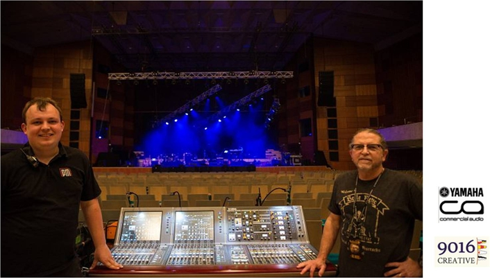 German Fans Enjoy A Lucky 13 Shows With Alan Parsons and Yamaha RIVAGE PM10