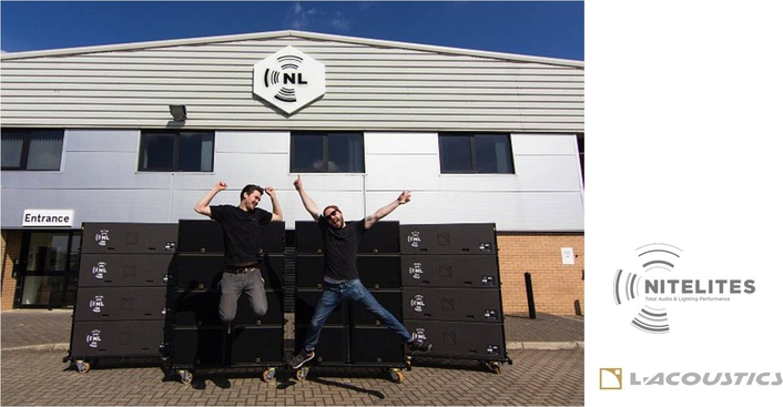 Nitelites becomes L-Acoustics K1 partner