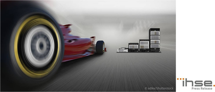 IHSE KVM system supports race control