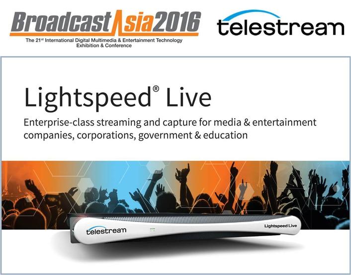 Telestream at BroadcastAsia2016